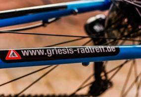 Aufkleber für Fahrräder / Griesi´s Radtreff