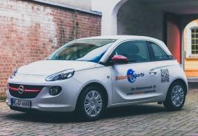 Autobeschriftung / Opel Adam / Balance sports