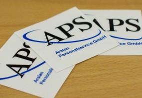 Arslan Personalservice GmbH / Logoaufkleber