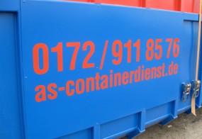 Folienbeschriftung / AS-Containerdienst