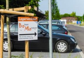Hinweisschilder / Bohnen Matratzen UG