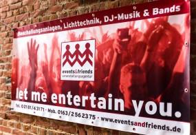 Veranstaltungsbanner / events&friends