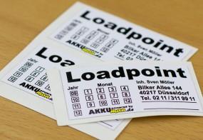 Loadpoint / Haltbarkeitsaufkleber