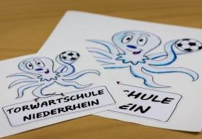 Aufkleber / Torwartschule Niederrhein