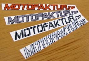 Motofaktur / Aufkleber (gestanzt)