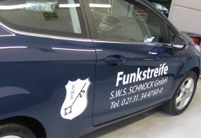 Autobeschriftung / S.W.S. Schnock GmbH