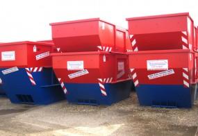 Siebdruckaufkleber / AS-Containerdienst