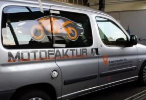 Fahrzeugbeschriftung / Motofaktur