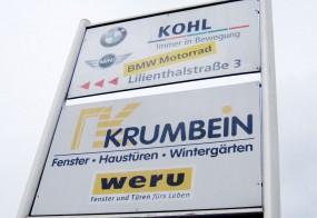 Firmenschilder / Krumbein & Kohl