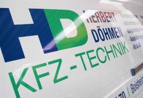Fahrzeugbeschriftung / Herbert Doehmen KFZ