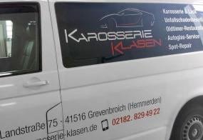 Autobeschriftung / Karosserie Klasen