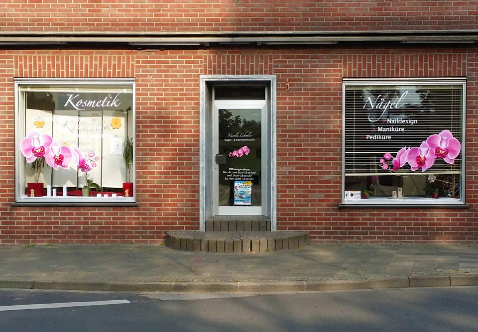 Fensterbeschriftung / NL Design