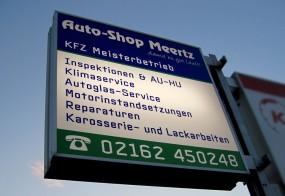Leuchtkasten / Auto-Shop Meertz