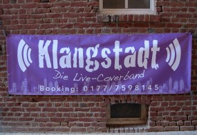 Banner / Live-Coverband Klangstadt