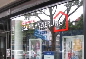 Fensterbeschriftung / Allianz Versicherung