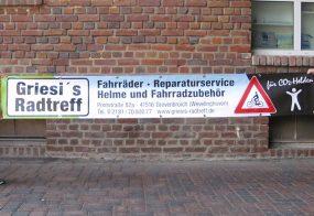 Werbebanner / Griesi's Radtreff