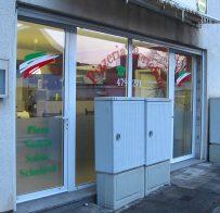 Fensterbeschriftung / Pizzeria Portofino