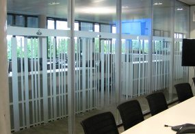 Glasdekorfolie / Santander Consumer Bank
