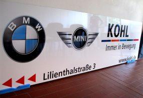 Dibondschild / KOHL automobile GmbH