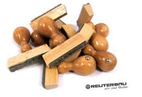 Holzstempel / Reuter Bauunternehmen