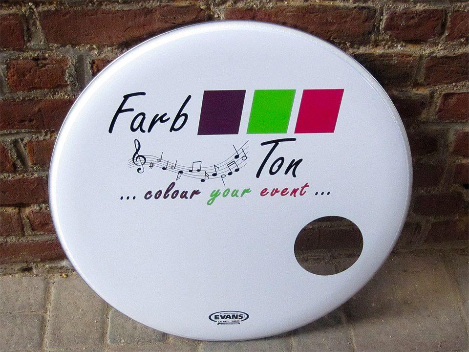 Beklebung Bass Drum / FarbTon