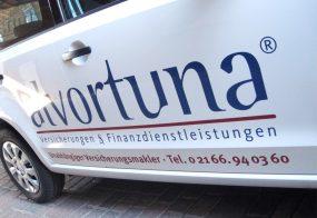 Fahrzeugbeschriftung / alvortuna