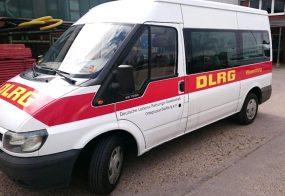 Autobeschriftung / DLRG / Bedburg