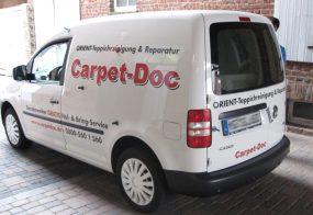 Autobeschriftung / Carpet-Doc
