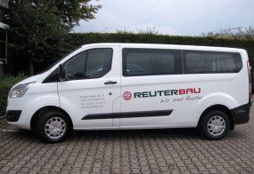 Busfolierung / Reuterbau / Ford Transit Bus
