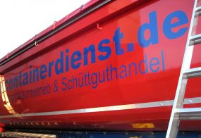Containerbeschriftung / AS-Containerdienst