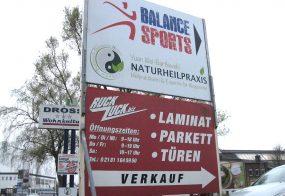 Wegweiser / Balance sports / Grevenbroich