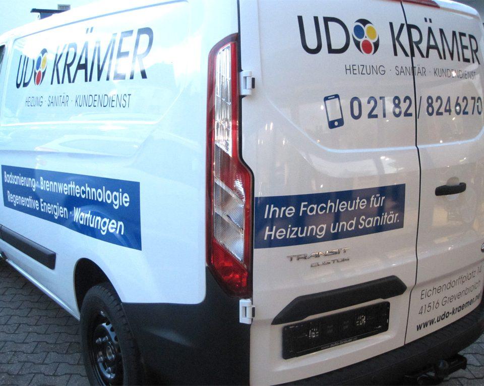 Autobeschriftung / Udo Kraemer / Ford Transit