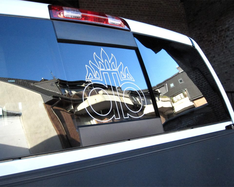 Autoaufkleber / Dodge 4×4