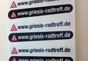 Aufkleber / Griesi's Radtreff