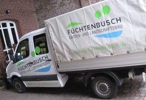 KFZ-Beklebung / Füchtenbusch Galabau