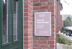Praxisschild / Uta Stemmer / Jüchen