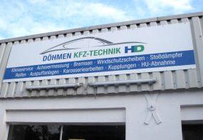Werbeschilder / Doehmen KFZ-Technik / Viersen