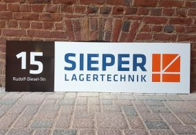 Schild / SIEPER Lagertechnik