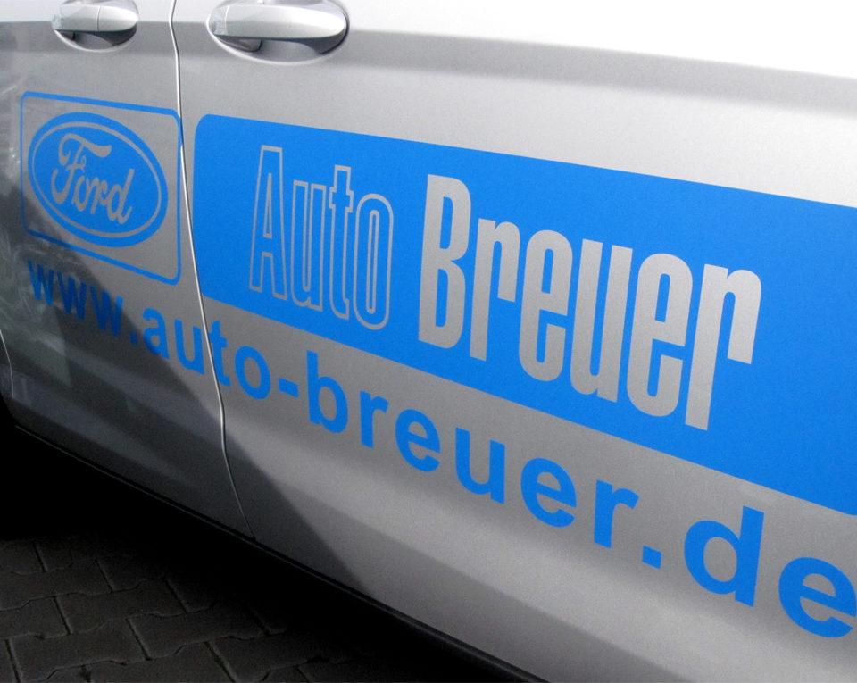 Fahrzeugbeschriftung / Ford B-Max / Grevenbroich