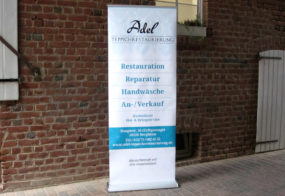 premium Roll-Up / Adel Teppichrestaurierung