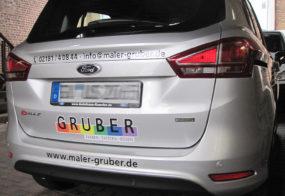 Autobeklebung / Gruber / Ford B-Max