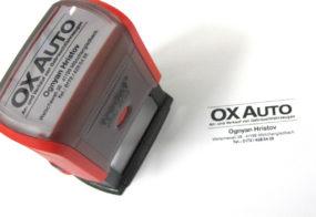 Automatikstempel / Ox Auto