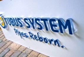 3D-Buchstaben / Tubus System / Neuwerk