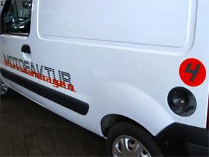 Motofaktur Fahrzeugbeschriftung in Grevenbroich Hemmerden