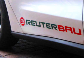 Reuterbau / Fahrzeugbeschriftung
