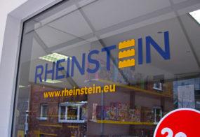 Fensterbeschriftung / Rheinstein