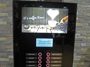 Digitaldruck für Kaffeemaschine in Mönchengladbach