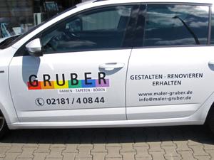 Skoda Octavia Fahrzeugbeschriftung in Grevenbroich