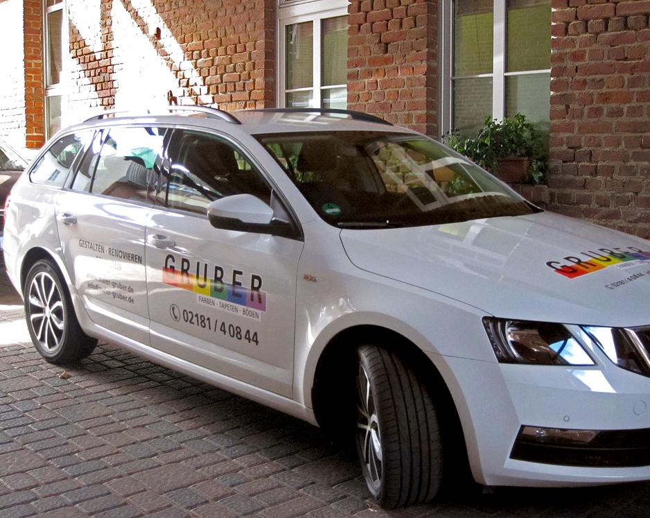 Fahrzeugbeschriftung / Skoda Octavia