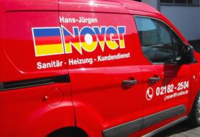 Auto Beschriftung / Grevenbroich / Nover